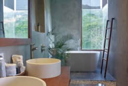 Narra Hill Premier 2 Bedroom Suite Modern Bathroom