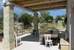 Giardino nascosto - portico with outdoor dining area - Marittima - Salento