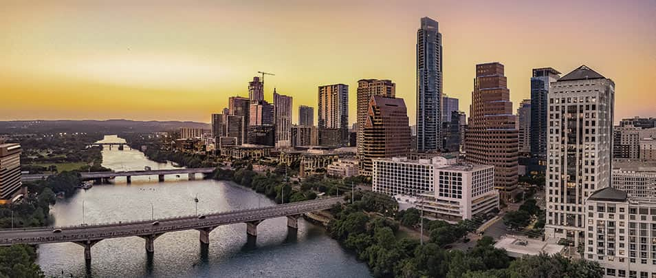 Stunning View of Austin, Texas