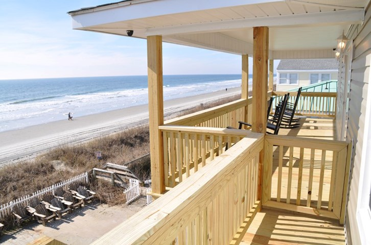 Afternoon Delight oceanfront pet friendly vacation rental