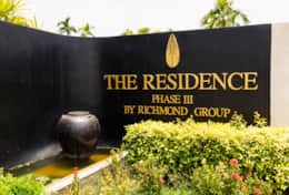 The Residence is an area with private luxury villas in Bang tao.