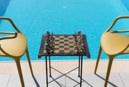 Chess by the pool - GM Villas