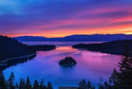 Emerald Bay is one of the most photographed places on earth!