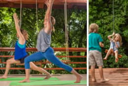 Yoga & Jungle Swing