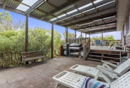 Doesntmatta - Back BBQ Patio - Good House Holiday Rentals