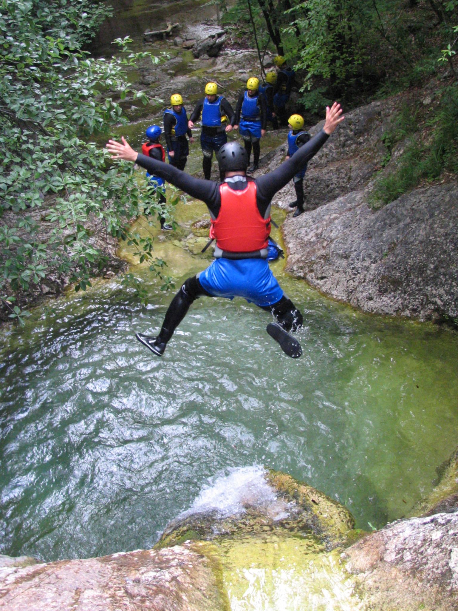 Kayaking Rafting Canyoning And Hydrospeed