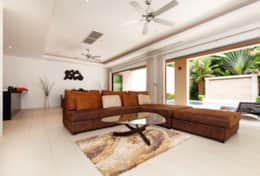 Big sofa and furnitures with high quality all over the house.