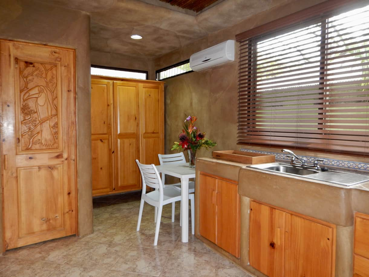 Buit in Cupboards and Hanging Closet