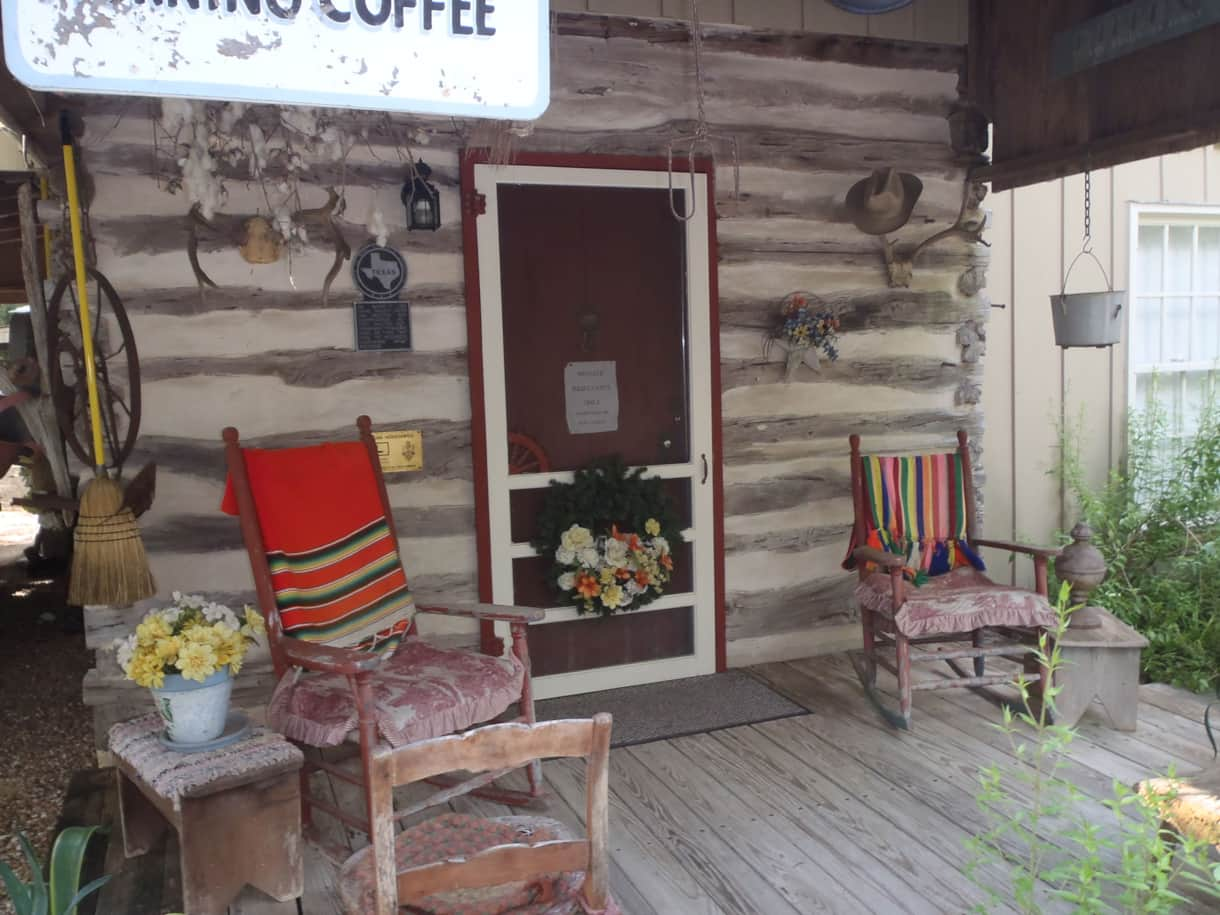 Front Porch at  Log Cabin