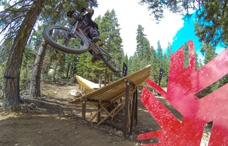 Northstar Downhill Mountain Bike Course