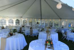 Tent Seating For Wedding