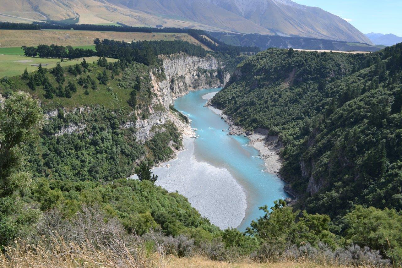 Rakaia Gorge near Quickenberry