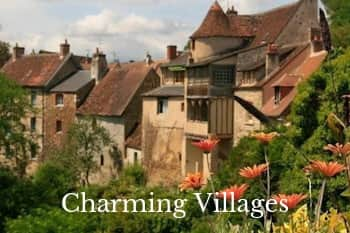 Charming villages Berry and Creuse