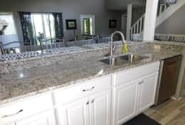 Open Kitchen- Granite Countertops