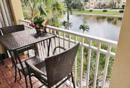 #1 balcony off queen guest & den overlooks lake