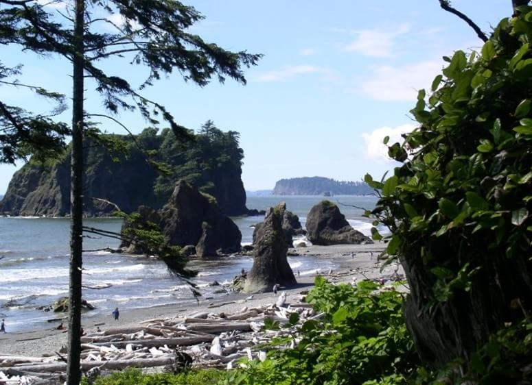 Charmant Ruby Beach