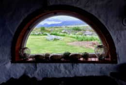 Lofoten Ocean View Grotta window
