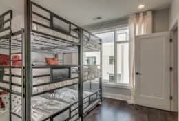2nd Bedroom with 3 twin, twin, twin bunk beds. 6 Totals beds