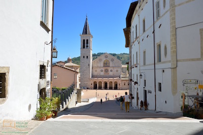The cathedral in Spoleto
