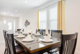 Exclusive Private Villas, 6 Bedroom Luxury Florida Villa In Encore Club (ENC189) - Dining2