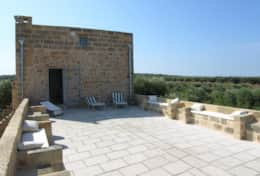 Masseria Ugento - terrace of the tower - Ugento - Salento