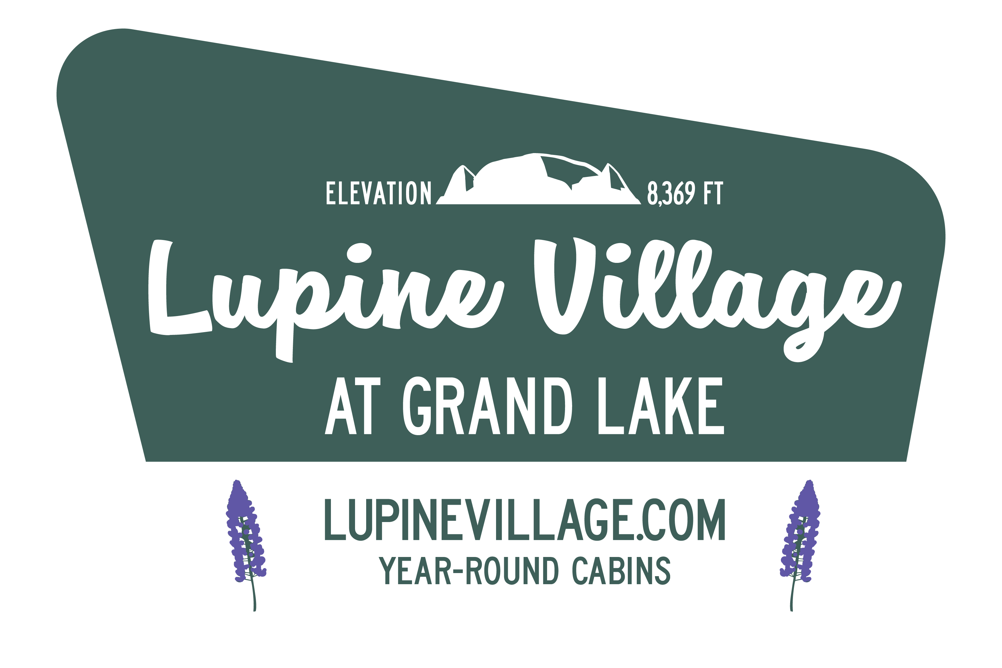Lupine Village Sign