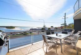 Balcony and Water View at Jervis Bay Vista Huskisson