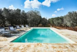 Villa Teia stunning cottage for vacation with heated pool in Ostuni Puglia  - 33