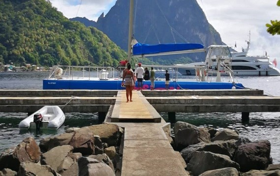 Get ready to take off on a Sunset Cruise from Soufriere