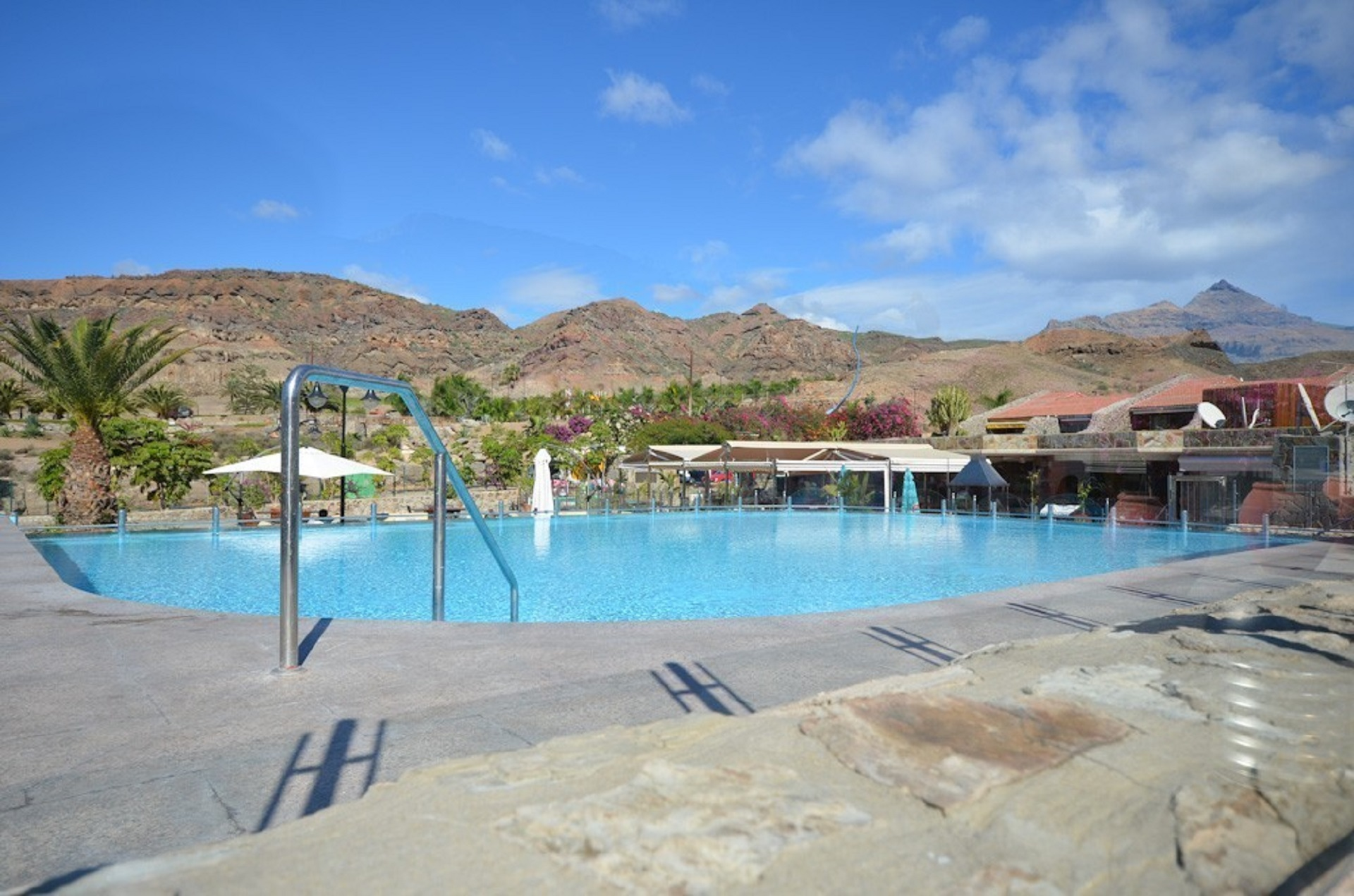 Heated Communal Swimming Pool With Private Key Access. Plenty Of Sun  Loungers