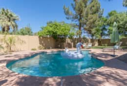 Come enjoy the Arizona sunshine in the large private pool!