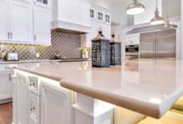 Beautiful kitchen counter tops