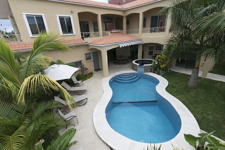 Cozumel remodeled home project