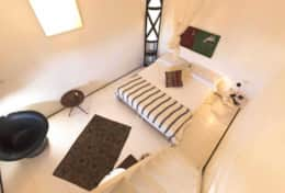 Just for two - bedroom, view fron the staircase - Depressa di Tricase - Salento