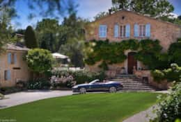 Large luxury villa for rent in Valbonne