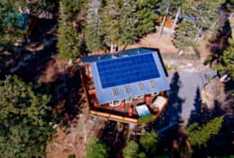 The only property in ALL of Mammoth with solar power and fresh well water