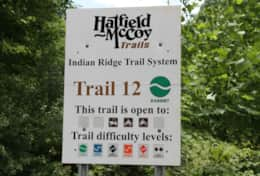 Ride from the house to this trail head!