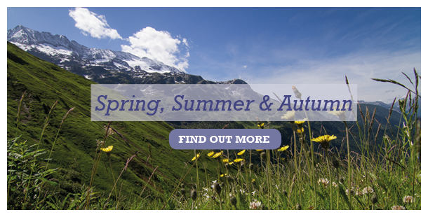 Spring, Summer & Autumn in Vaujany