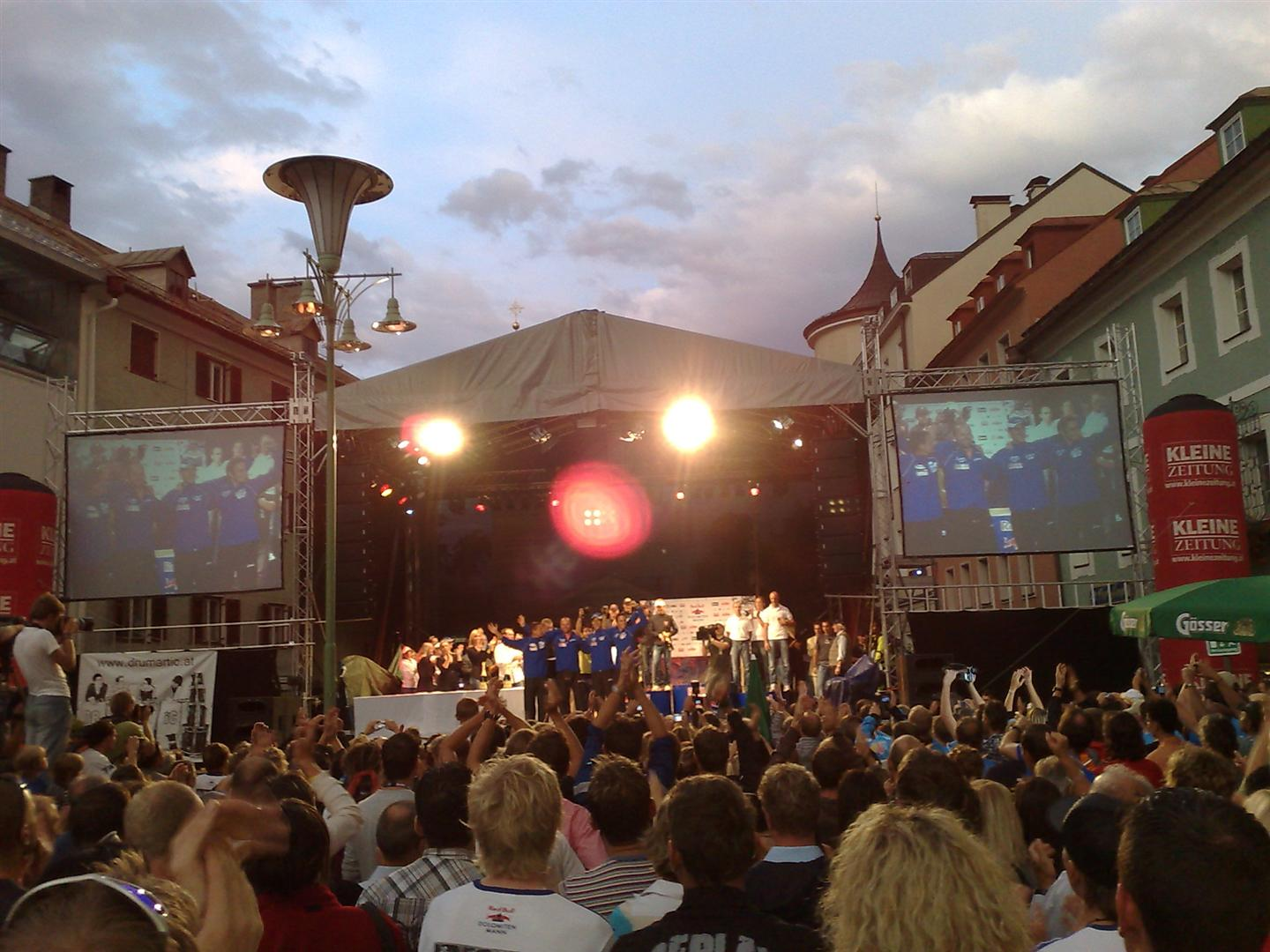 Seasonal events in Lienz