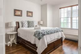 You'll want to lounge all day on a queen bed in the upstairs 2nd bedroom.