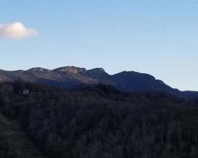 Grandfather Mountain from Deck