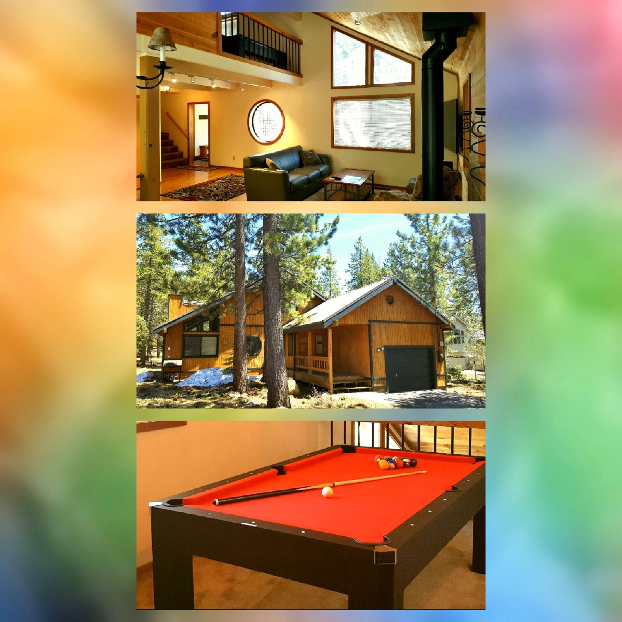 out ski lake luxury bath lodge prop large pool indoor at rental group heavenly acres movie house with tahoe rentals bedroom powder on in cabins vacation