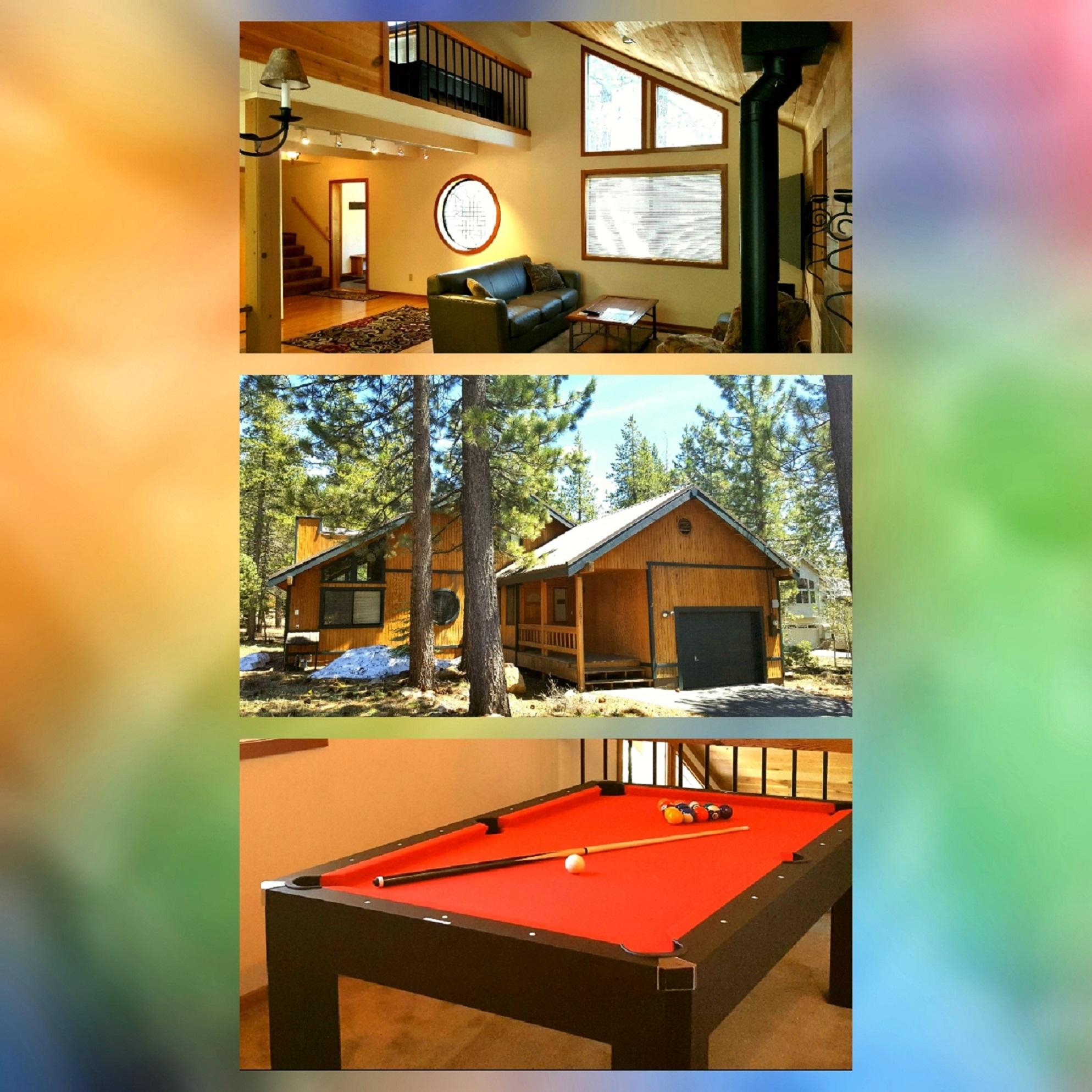 retreat vacation cabins lake rental rentals rustic tahoe